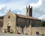 Kirche von Monteriggioni