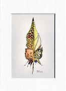 plume zentangle - vendu