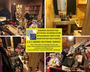 Intérieurs - Maisons  - caves - greniers - appartements - déchets