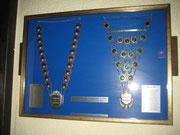 Ehemals genutze Zugsilber der Generalität zu sehen im Niederheider-Hof