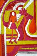 Девушка и лето  (29x44 см) - JHP, 2009