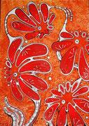 Красное на красном,  (29,7x42 см) - JHP, 2014