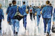blue group, acryl 120x80