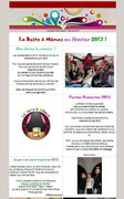 La Boite à Mômes - Lettre aux abonnés - Février 2013