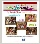 La Boite à Mômes - Voeux aux abonnés - Janvier 2013