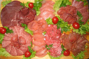Schinken- Salami- Platte