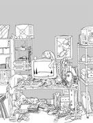 雑誌/「スタジオヴォイス」/イラスト