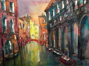 Venedig, Rio di Santa Maddalena  50 x 65