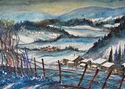 Worblental im Winter  56 x 76