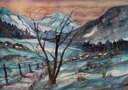 Winterlandschaft   56 x 76