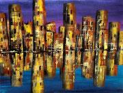 Skyline in Acryl  46 x 65