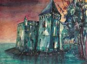 Schloss Chillon  45.5 x 61