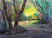 Landschaftsimpression  30 x 40