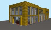 Visueller Entwurf Neubau Schreinerei in Gutach - Bleibach