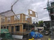 Bauphase Zweifamilienwohnhaus in Umkirch