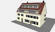 Mehrfamilienwohnhaus in Elzach nach dem Umbau