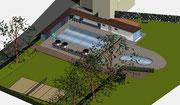 Sanierung Schwimmbad Gutach