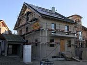 Bauphase Zweifamilienwohnhaus in Bahlingen