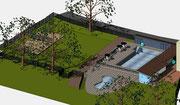 Visueller Entwurf Sanierung Schwimmbad Gutach