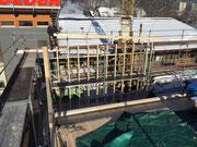 Bauphase Erweiterung Schreinerei in Waldkirch