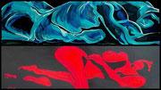 Switch-Gemälde aus dem Atelier Manuela Engelhardt, ArtBoxStarnberg