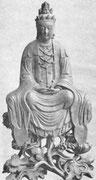 Cette déesse est généralement considérée en Chine comme tenant le premier rang dans le panthéon bouddhique, et c'est celle de toutes les divinités étrangères dont le culte est le plus répandu dans ce vaste empire.