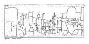 Fremde Stadt 1915,4; Feder 8,8x22cm; KleeM Bern