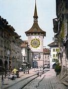 Zeitglockenturm Bern um 1900 Postkarte