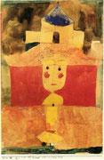 Es war ein Kind das wollte nie 1920 , 88, Feder & Aquarell 28,3x18,7cm  Rosengart Luzern