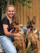 Кампина (слева) и Кантри фон Нордэн-Штэрн, 4 мес 20 дней