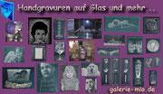 seit 2002 Handgravuren auf Glas und Keramik ...