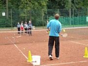 Jugendtrainer Dorian Niesel