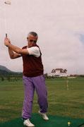 1. Golfabschlag (Schnupperkurs am Klopeinersee)