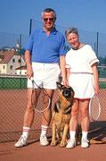 1. Tenniscamp in Gsöls (mit meiner Liebsten und unserer Freya)