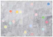 o.T., 53 x 70 cm, Bleistift, Farbstifte auf Papier, 2010