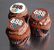 Cupcakes für 888.com in Gibraltar