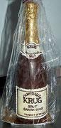 Schokoladen Champagner Flasche
