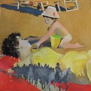 Kapitulation, Öl auf Leinwand, 2009, Privatsammlung