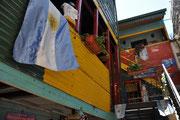 """Die farbigen Haueser """"Caminito"""" in Boca"""