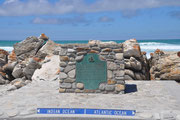 Cape L' Agulhas, der suedlichste Punkt vom afrikanischem Kontinent.