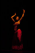 Spectacle Aladin El Kholy & Iman Joussot - Toulouse - Théâtre des Mazades - 2008 -  Photo Patrick Poupart -