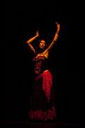 Spectacle Aladin El Kholy & Iman Joussot - Toulouse - Théâtre des Mazades - 2008 -  Photo Patrick Poupart - Tous droits réservés - Iman Joussot - dansesource.com