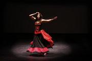 Spectacle Aladin El Kholy & Iman Joussot - Toulouse - Théâtre des Mazades - 2008 - Photo Vanessa Boudet - Tous droits réservés - Iman Joussot - dansesource.com