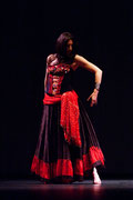 Spectacle Aladin El Kholy & Iman Joussot - Toulouse - Théâtre des Mazades - 2008 - Photo Vanessa Boudet -