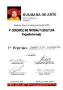 Primer Premio - Galería Guijuana de Arte - 2015