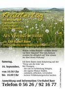 Veranstaltungsflugblatt Kräutertag