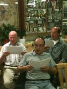 Plattkopp-Trio - ein Teil des 2. Tenores