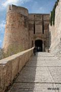 Bonifacio - Accès à la citadelle - Porte de Gênes