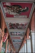 Arcades de la place du Capitole - Plafond