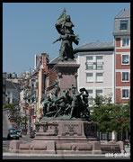 Monument commémorant le siège héroïque face a l'armée de Philippe II d'Espagne en 1557